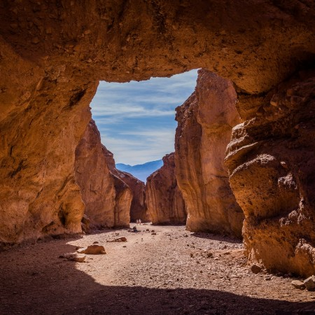 NATURAL BRIDGE CANYON TRAIL, Death Valley National Park