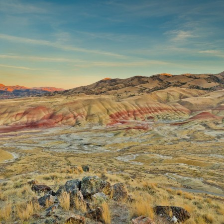 Painted Hills Overlook Trail, John Day Fossil Beds National Monument