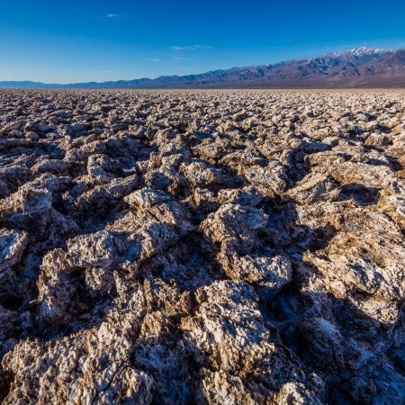 Devil's Golf Course, Death Valley National Park