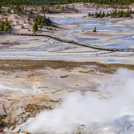 Porcelain Basin, Yellowstone National Park