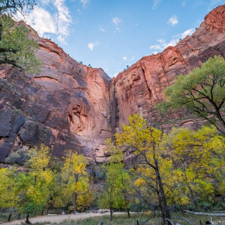 Riverside Walk Trail, Zion National Park