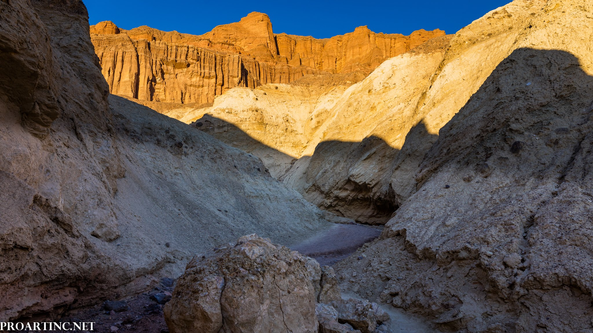 Golden Canyon Trail at Death Valley National Park
