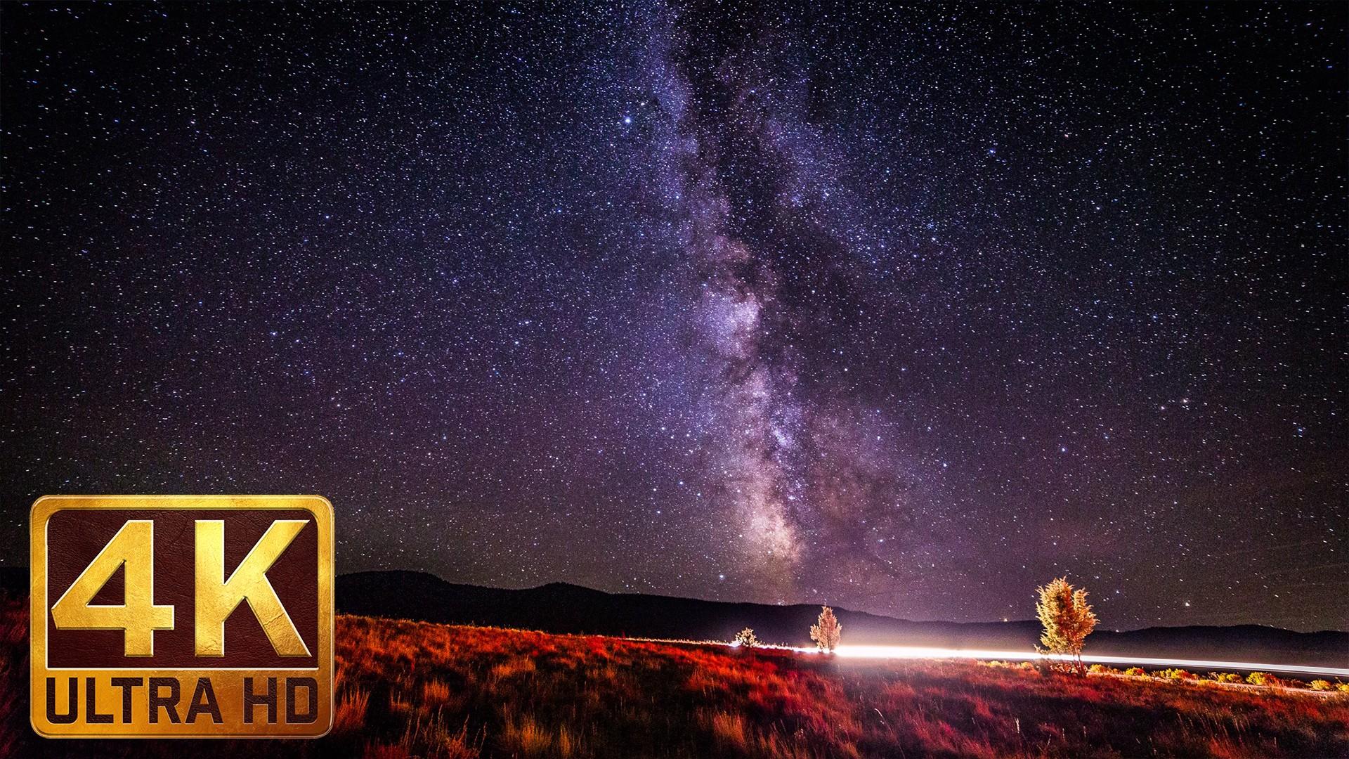 Amazing Stars – 4K TV Screensavers with Instrumental Music