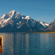 Jackson Lake at Grand Teton National Park, 4K Nature Relaxation Video