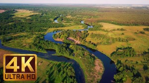 CHARMING UKRAINIAN RIVERS - 4K Aerial Footage