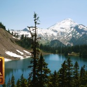 Chain Lakes Trail, Mt. Baker Area - 4K Nature Relax Video