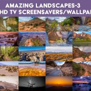 4K TV Screensavers/Wallpapwrs: Amazing Landscapes 3