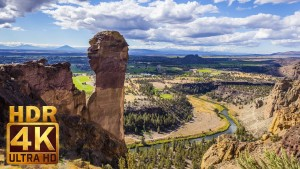 Smith Rock State Park in HDR 4K/UHD