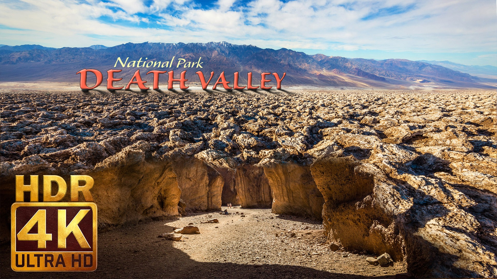 Death Valley National Park – Nature Documentary Movie in 4K HDR