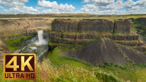 Palouse Falls in Spring