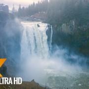Snoqualmie Falls after Heavy Rain, Washington