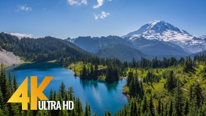 MOUNT RAINIER SUMMER PREVIEW -trailer relax video