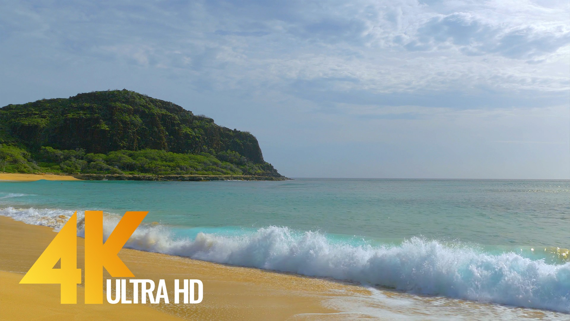 Oahu Beaches in 4K (Ultra HD) – Nature Relax Video Short Preview