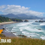 Coastal Oregon.Pacific Ocean.Part 2 - 4K Ocean Views for Destress, Insomnia and Sleep