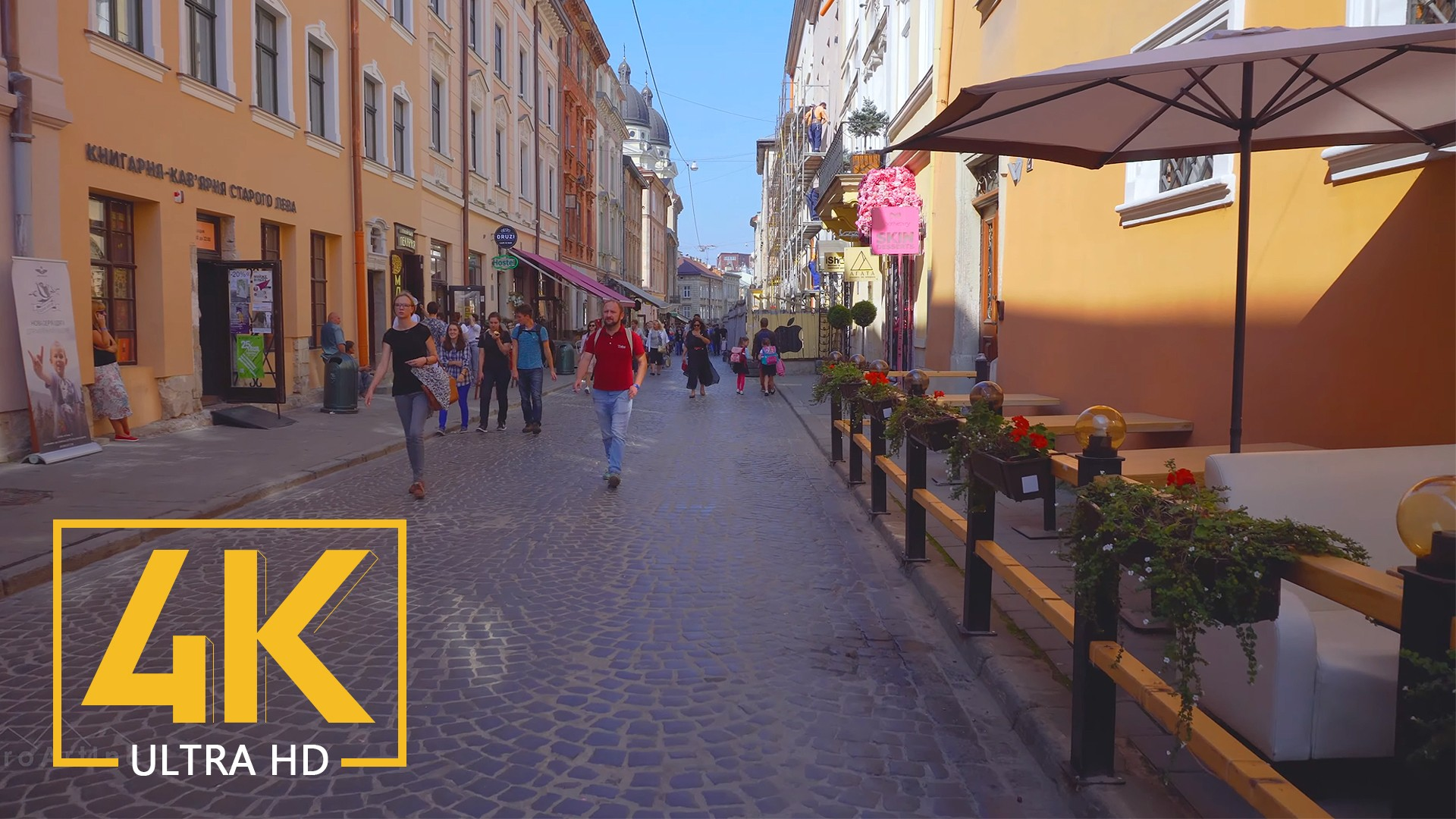Lviv, Ukraine – 4K Walking Tour – Travel Journal