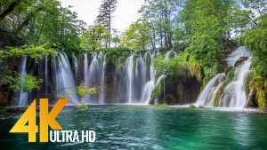 Crystal waters of Croatia lakes