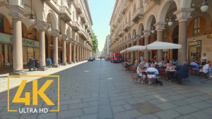 Turin, Italy - 4K Walking Tour