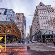 Seattle Downtown_Seattle Streets - VR Relaxation Video