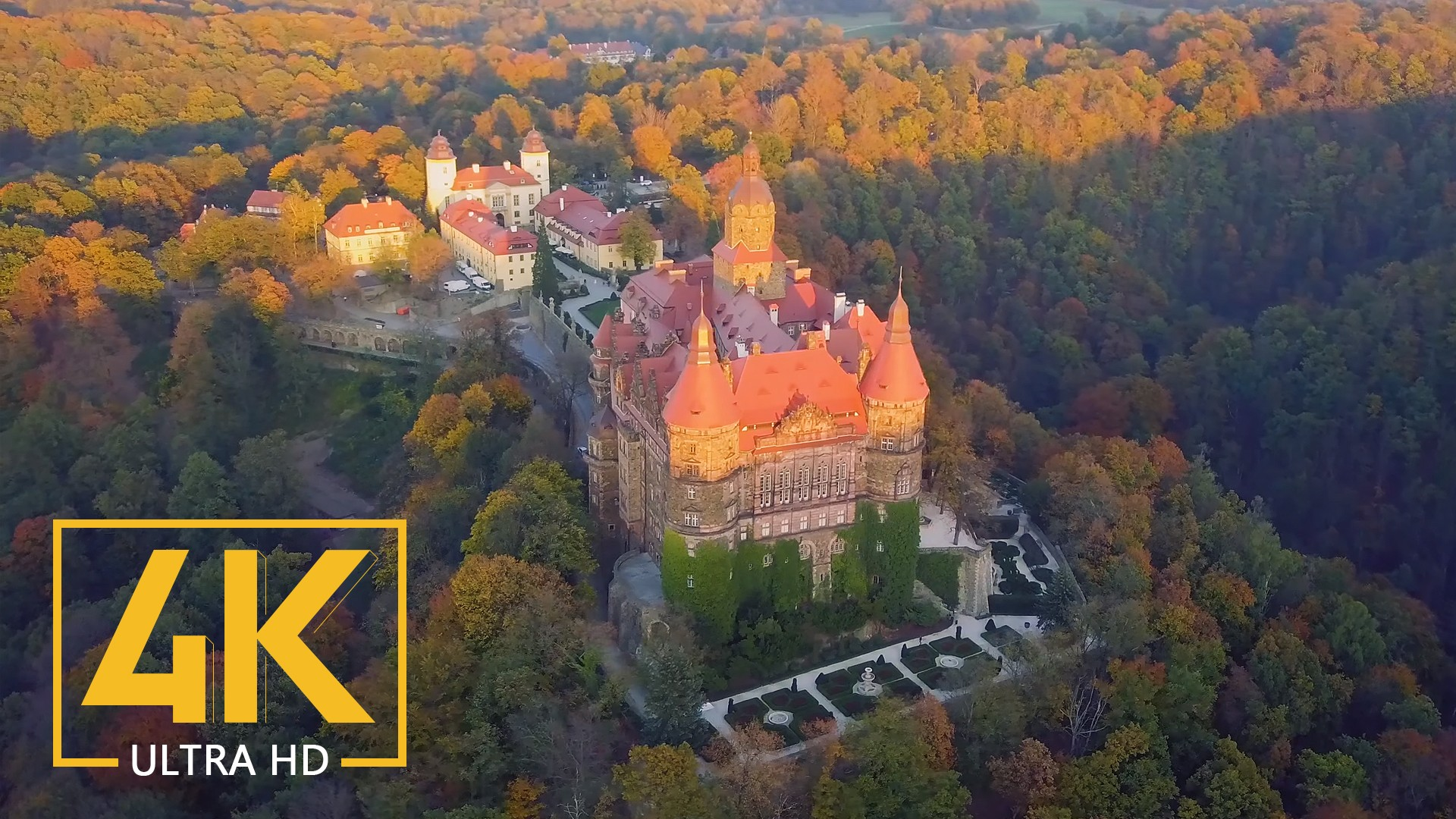 Polish Castles in 4K (Ultra HD) – Short Film Preview