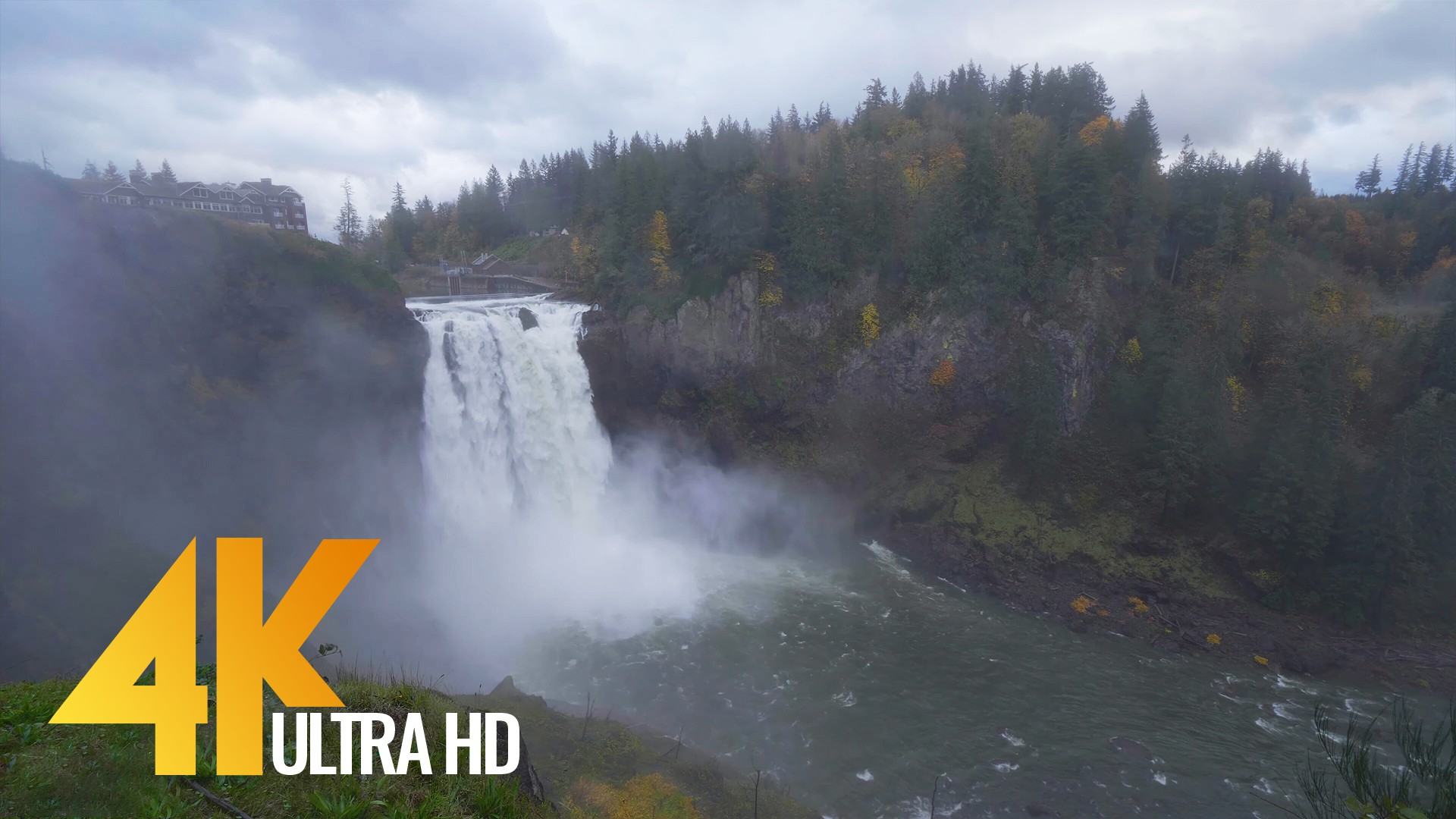 Snoqualmie Falls in Autumn. Episode 1