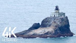 Distant Lighthouse, Coastal Oregon