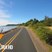 Drive 4K 60fps - Oregon, Cape Lookout Road, USA