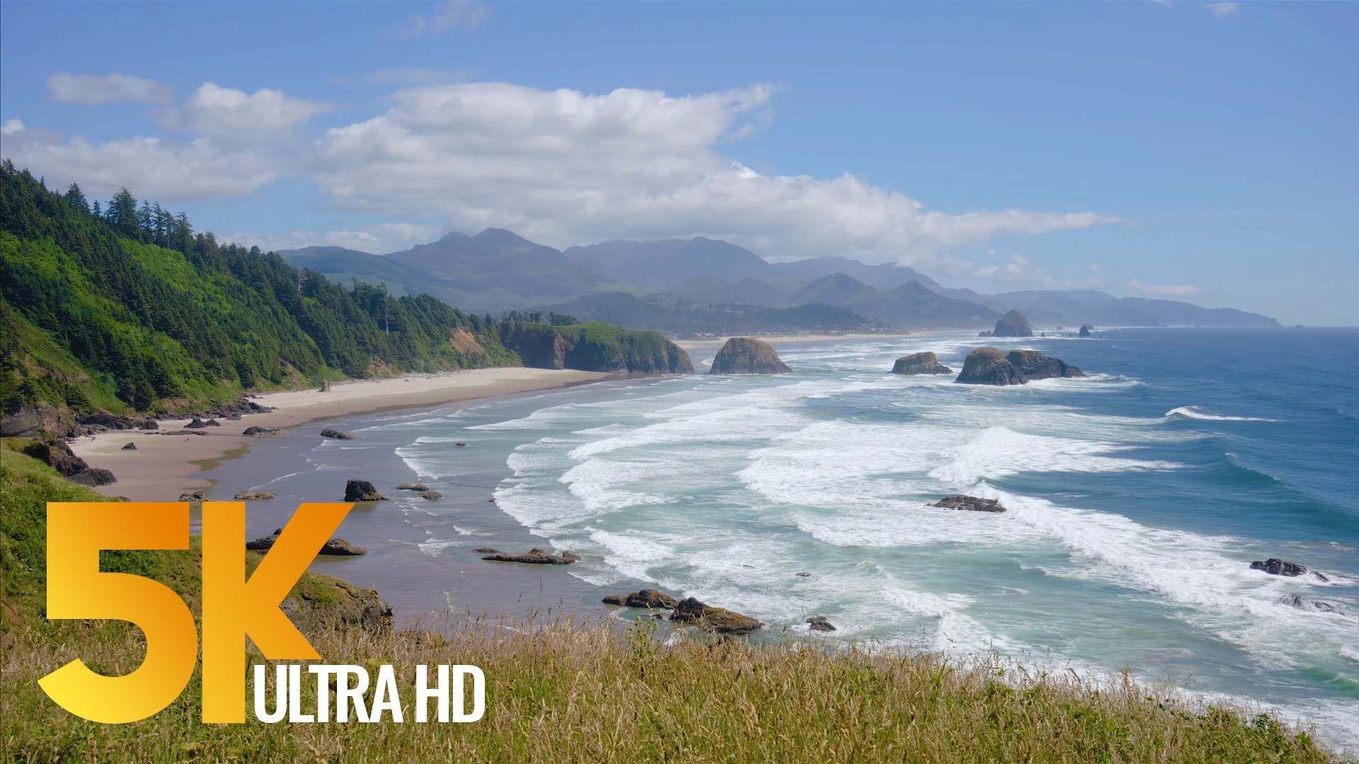 Pacific Northwest, Oregon Coast. Part 1 – 5K Nature Documentary Film with Voice Over-2