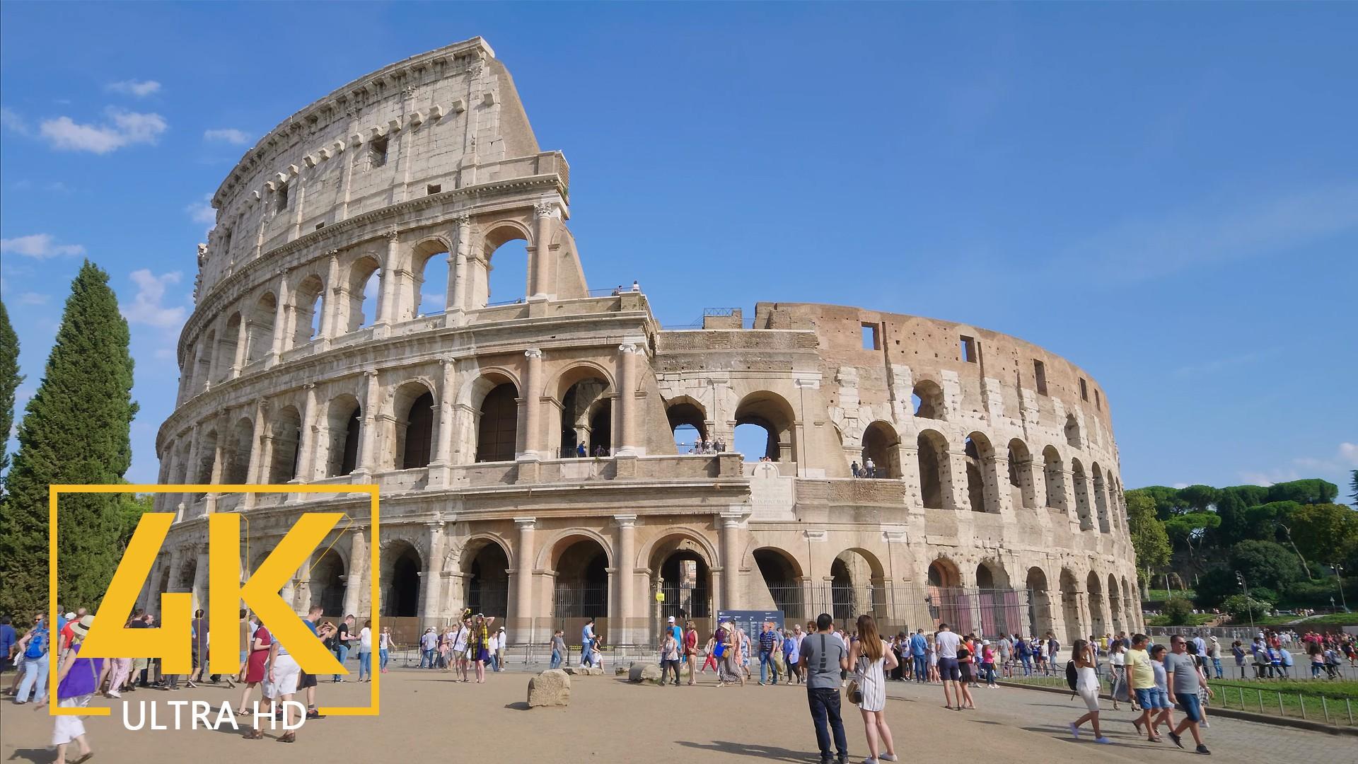 Rome, Italy – 4K Urban City Life