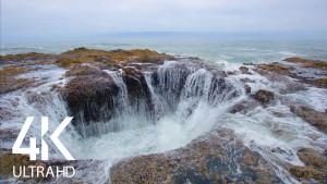 Ocean Waves splash