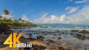 Maui Island - Tropical Beach Relaxation Video. Part 2