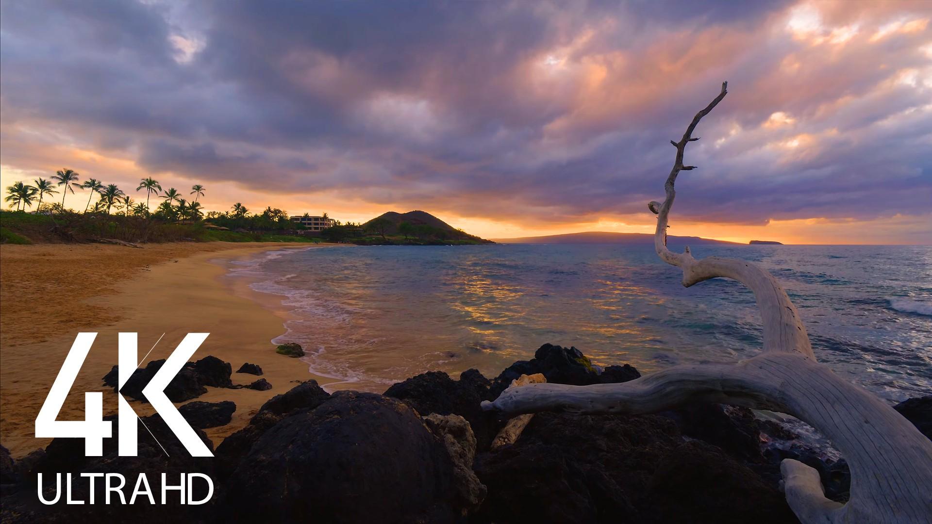 SUNSET AT maluaka beach