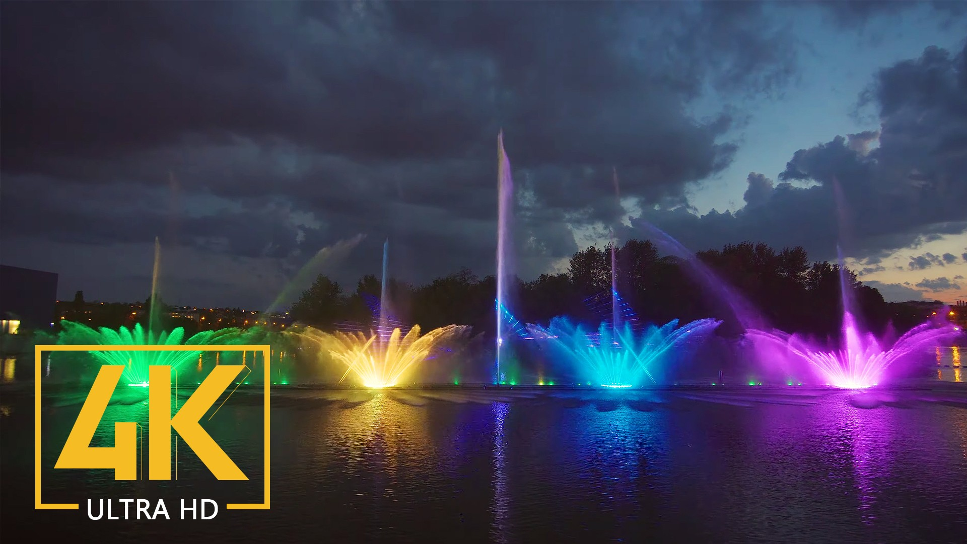 Fountain Light Show Vinnytsia, Ukraine PREVIEW
