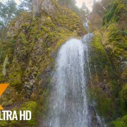 Oregon Waterfalls Wintertime Nature Relax Video