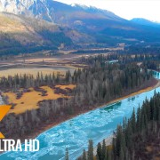 Jasper National Park CANADA AERIAL RELAXATION