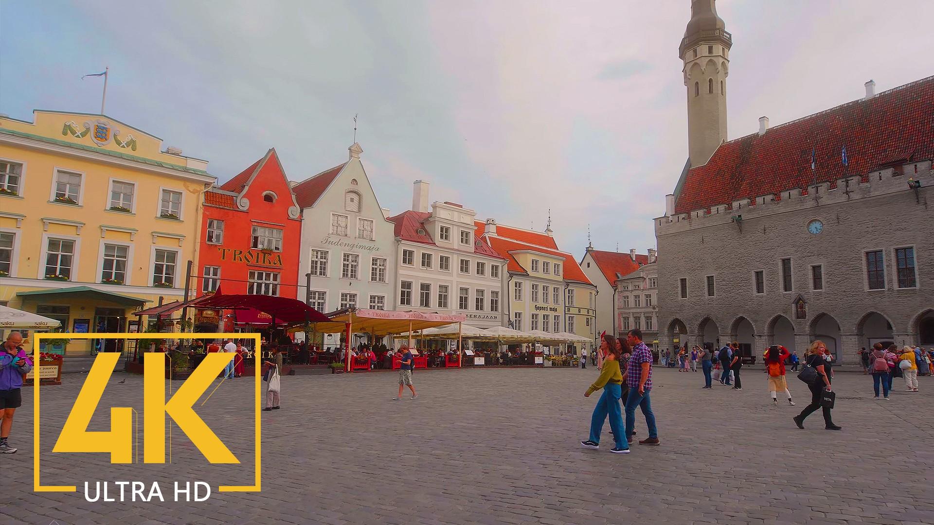 Tallinn, Estonia Urban Walking Tour