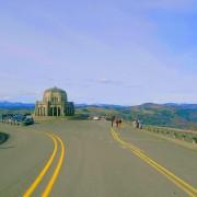 Landscapes of Oregon State scenic drive