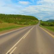 Bashkiria's roads RUSSIA