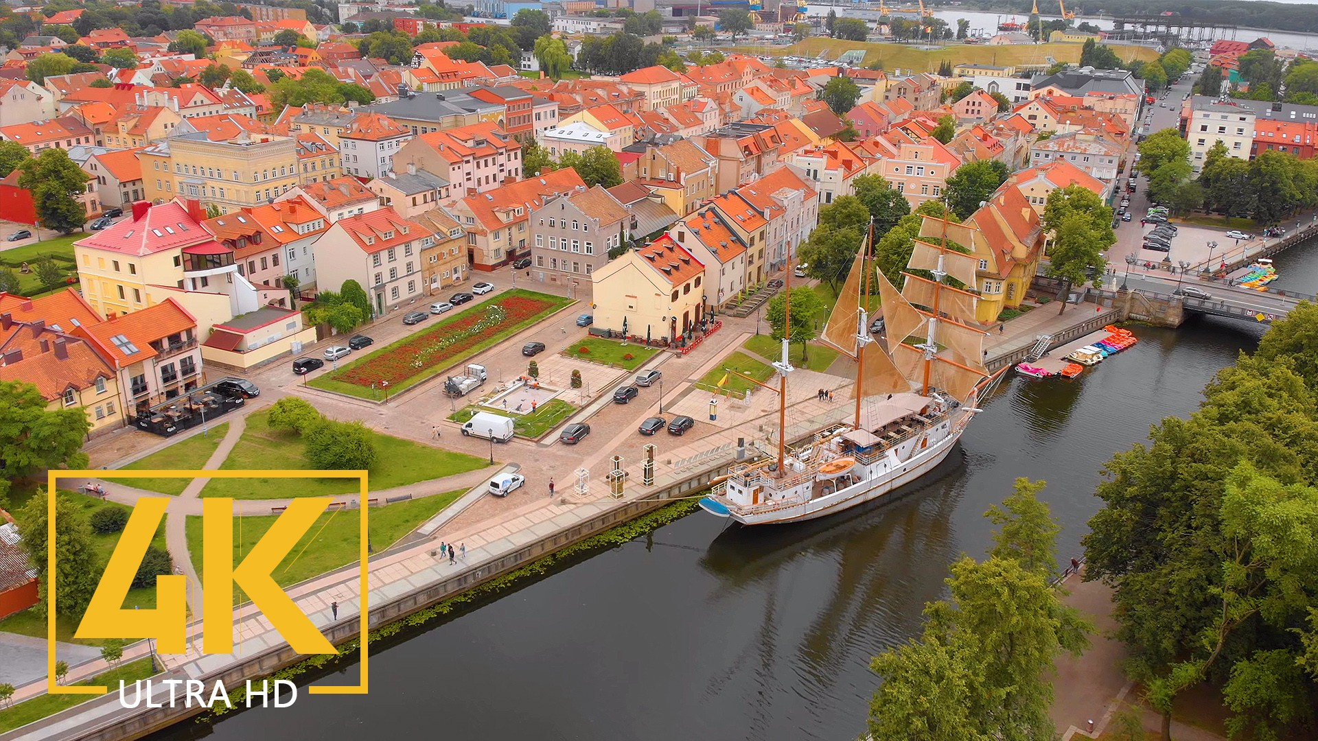 Bird's Eye Views of Klaipeda