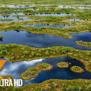 Lithuania from Air Nature Relax Video