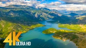 Birds Eye View of Albania