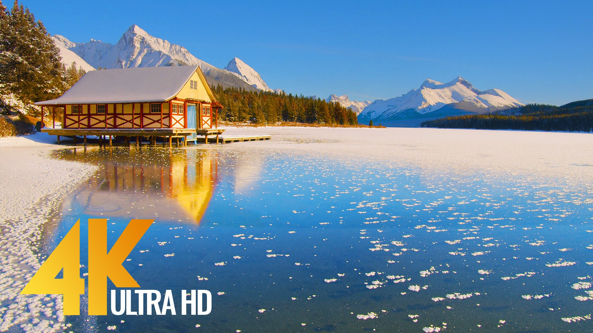 Winter Beauty of Canadian National Parks RELAX
