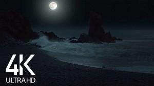 Night Beauty of Icelandic Coastline