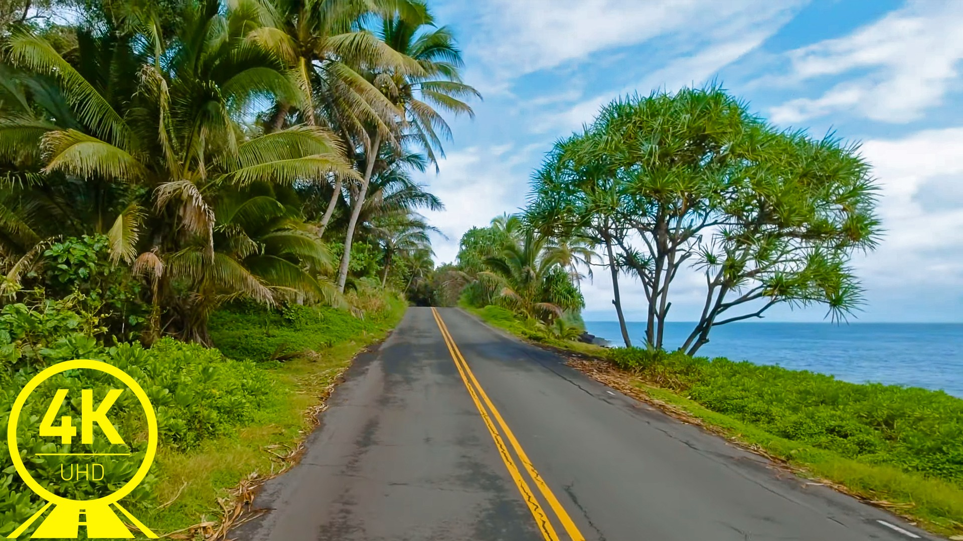 Hawaii Roads front 9 Scenic drive video