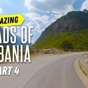Beautiful Roads of Albania. Part 4