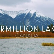 4k_Serene_Atmosphere_of_Vermillion_Lakes_Canada,_Wintertime_8_Hours