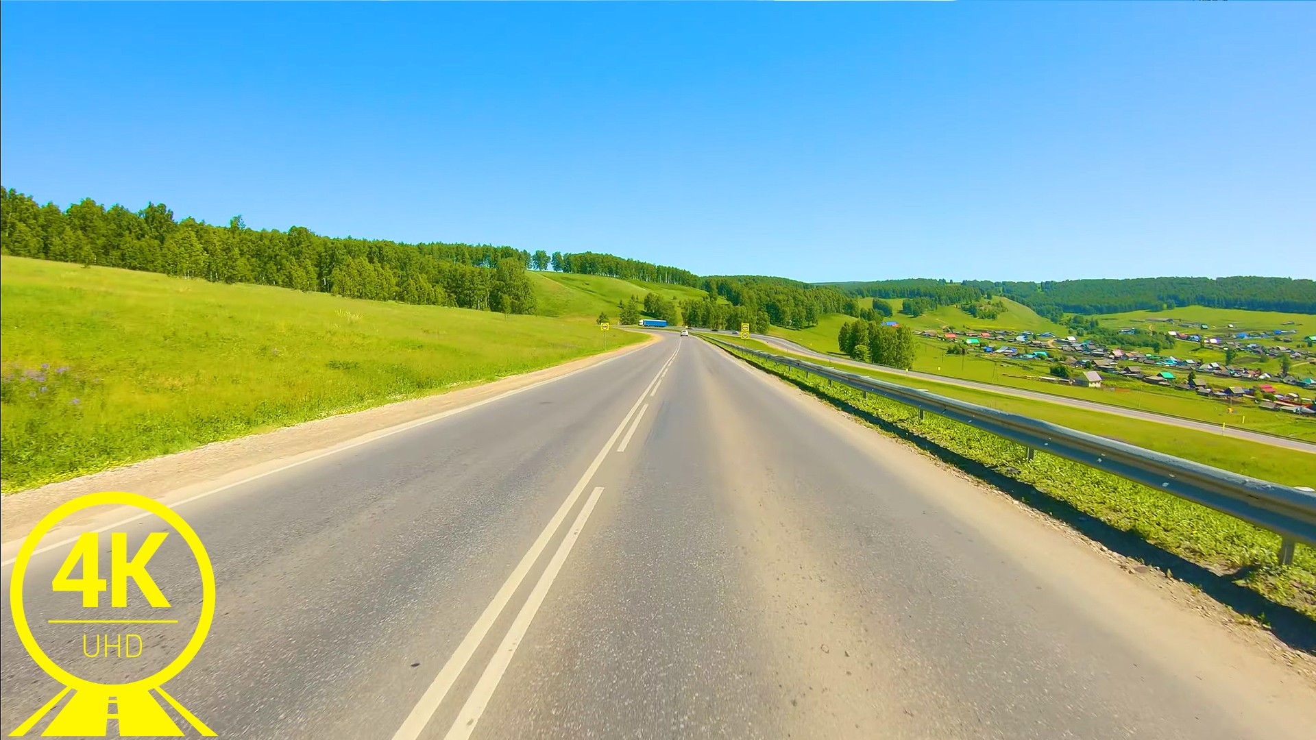 Picturesque roads of South Ural Part 4