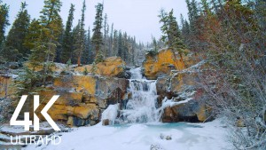 Winter Charm of Tangle Creek Falls