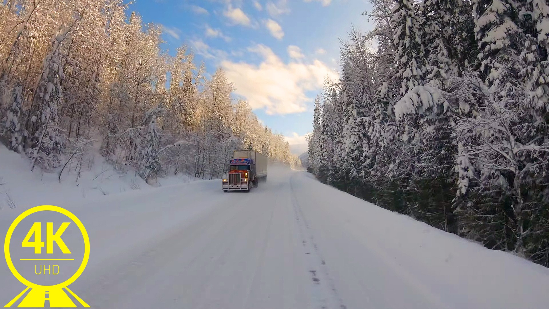 Winter Roads of Canada. Part 4