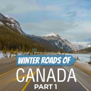 4k Winter Roads of Canada Part 1 Scenic Drive Video YOUTUBE2