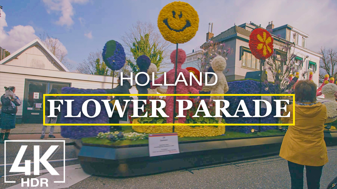 The Flower Parade with Music hdr youtube holland